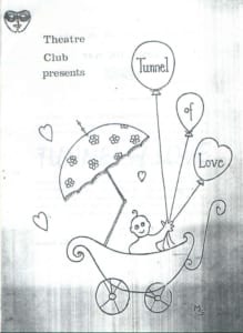 1964, Tunnel of Love: Programme Cover