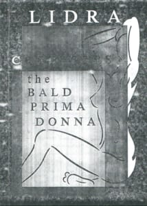 1965: The Bald Prima-Donna: Programme Cover