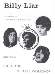 1967, Billy Liar: Programme Cover