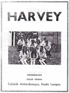 1971, Harvey: Programme Cover