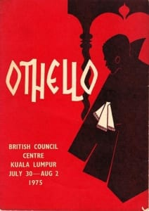 1975, Othello: Programme Cover