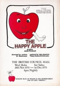 1979, The Happy Apple: Programme Cover