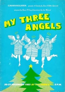 1983, My Three Angels: Programme Cover