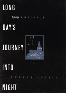 1984, Long Day's Journey Into Night: Programme Cover