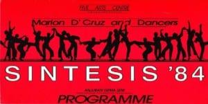 1984, Sintesis: Programme Cover