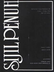 1986, Sijil Penuh: Programme Cover