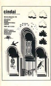 1988, Cindai: Programme Cover