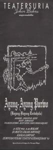 1992, Ayang-Ayang Purwo: Programme Cover