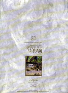 1993, Titian: Programme Cover