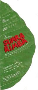 1994, Suara Rimba: Programme Cover