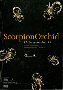 1995, Scorpian Orchid: Programme Cover