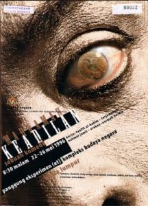 1996, Mahkamah Keadilan: Programme Cover