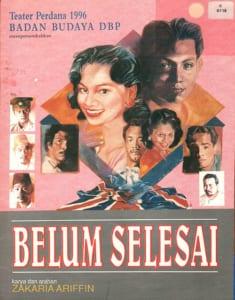 1996, Belum Selesai: Programme Cover