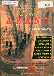 1996, Tanah Abang: Programme Cover