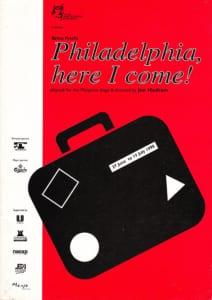 1998, Philadelphia Here I Come: Programme Cover
