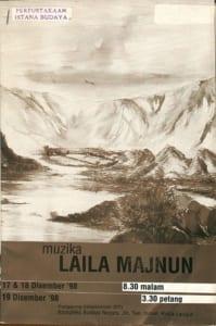 1998, Muzika Laila Majnun: Programme Cover