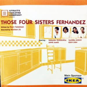 2000, Those Four Sisters Fernandez: Programme Cover