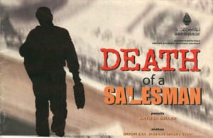 2001, Death of a Salesman: Programme Cover