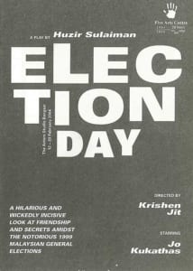 2004, Election Day: Programme Cover