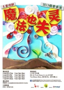 2013 Magic Failure Poster