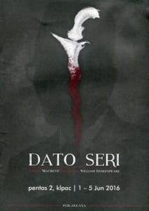 2016 Dato Seri cover