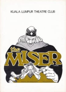 1980, The Miser: Programme Cover