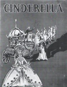 1963, Cinderella: Programme Cover