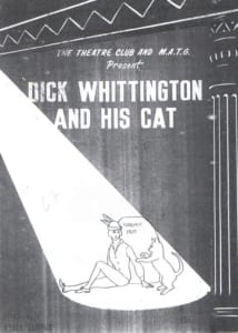 1967, Dick Whittington and His Cat: Programme Cover