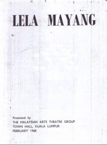 1968, Lela Mayang: Programme Cover