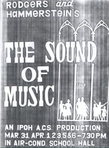 1969, The Sound of Music: Programme Cover