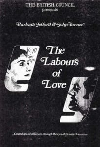 1970, The Labours Of Love: Programme Cover