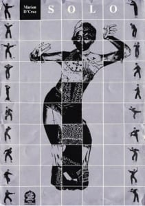 1982, Marion D'Cruz Solo: Programme Cover