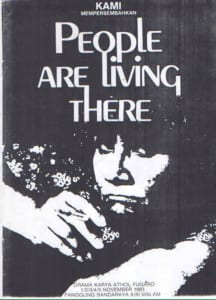 1983, People Are Living there: Programme Cover