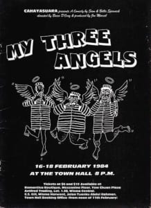 1984, My Three Angels: Programme Cover