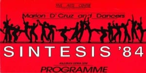 1984, Sintesis: Programme Cover