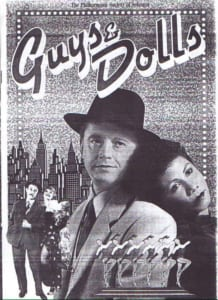 1987, Guys & Dolls: Programme Cover