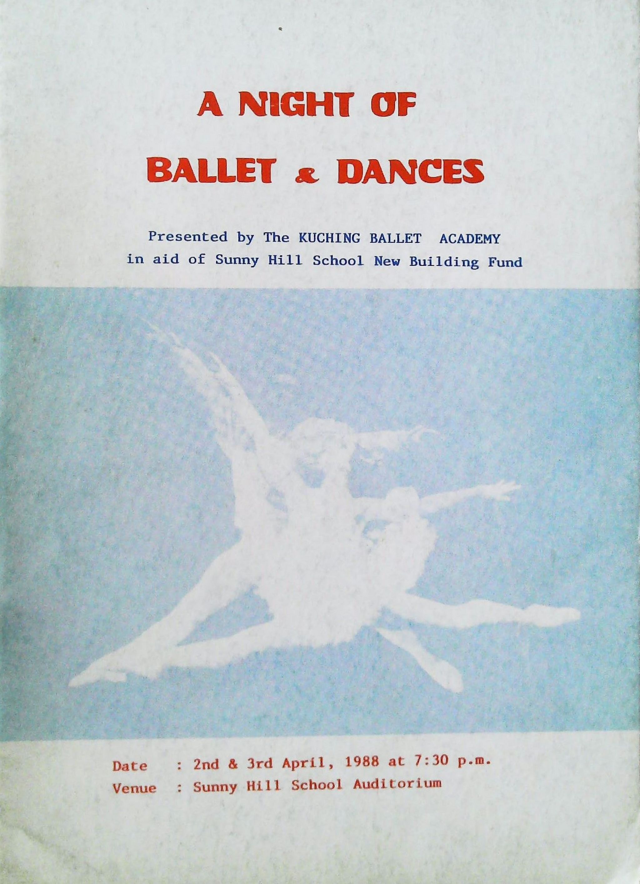 1988 A Night Of Ballet And Dances Cover
