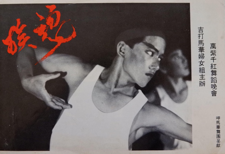 1983 Wan Zi Qian Hong Dance Evening Performance Cover