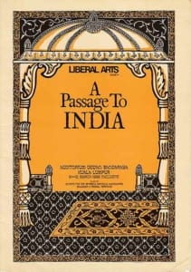 1988, A Passage to India: Programme Cover