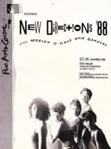 1988, New Directions '88: Programme Cover