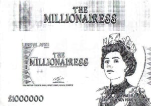 1988, The Millionairess: Programme Cover