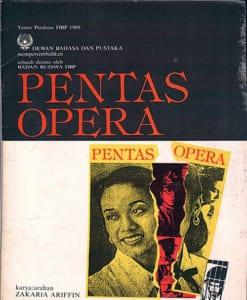 1989, Pentas Opera: Programme Cover