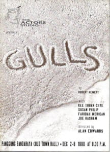 1990, Gulls: Programme Cover