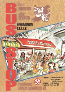 1993, Bus Stop: Programme Cover