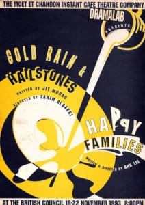 1993, Gold Rain And Hailstones & Happy Families: Programme Cover