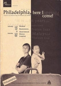 1994, Philadelphia Here I Come: Programme Cover