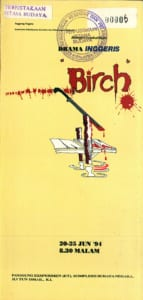 1994, Birch: Programme Cover
