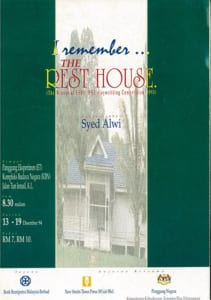1994, I remember The Rest House: Programme Cover