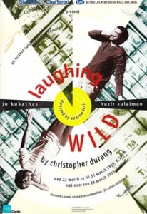 1995, Laughing Wild: Programme Cover