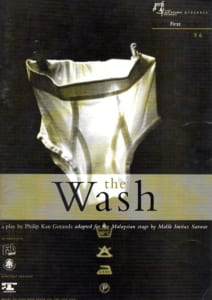 1996, The Wash: Programme Cover